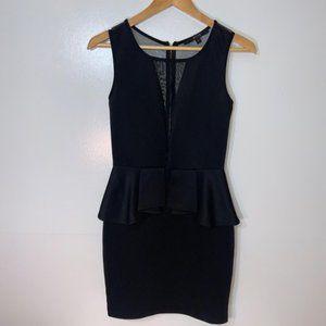 Guess Medium Black Bodycon Dress